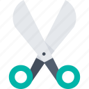 app, cutting, cutting tool, scissor, trimming, utensil icon icon