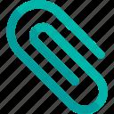 app, attach, attachment, clip, paper clip icon icon