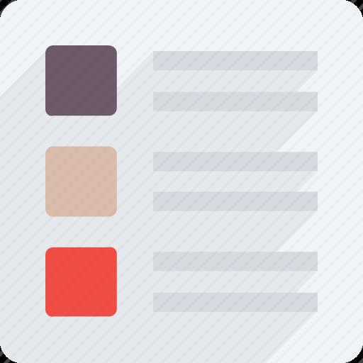 app, checklist, list, memo, planning list, shopping list icon, task list icon