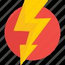 app, bolt, flashlight, lightning, power, thunder icon icon