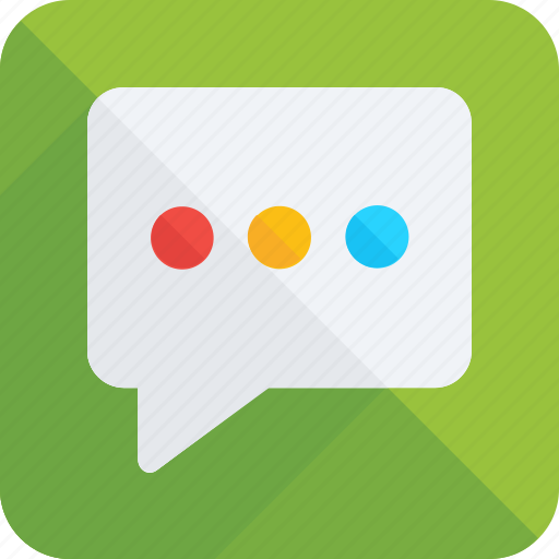 chat bubble, chatting, comment, message, texting icon icon