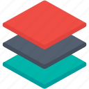 copy, copy layers, duplicate, file, layer, share icon icon