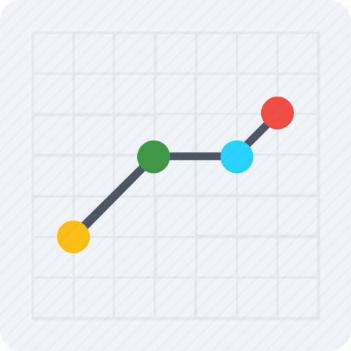 analysis, chart, graphic, line chart, stats icon icon