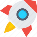 missile, rocket, rocket launch, spacecraft, spaceship icon icon