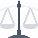 justice, justice scale, justice symbol, scale icon icon