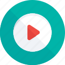 media, media player, multimedia, music player, video player icon icon