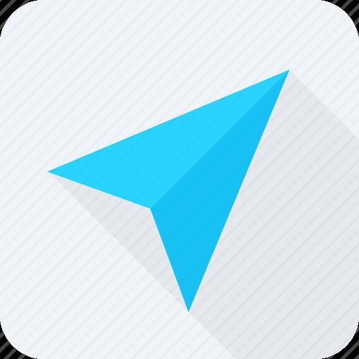 paper aeroplane, paper dart, paper plane, plane icon icon