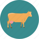 agriculture, agronomy, cow, farm, farming icon
