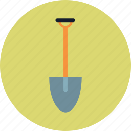 agriculture, agronomy, equipment, shovel icon