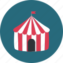 circus, entertainment, marquee, performance icon