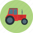 agriculture, agrimotor, agronomy, farming, tractor icon