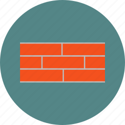 brick, building, cement, construction, wall icon