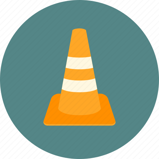 building, construction, traffic cone icon