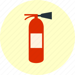 fire, fire extinguisher, fire safety, safety icon