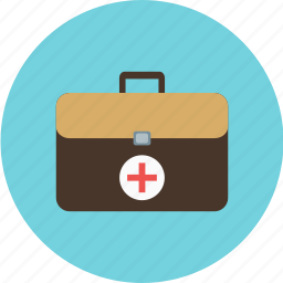 bag, disease, health, suitcase icon