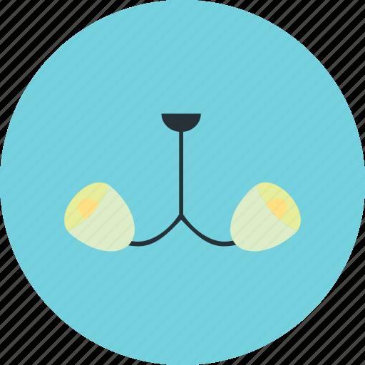 chandelier, lamp, light, lighting icon