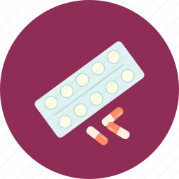 capsules, disease, pharmacy, tablets icon