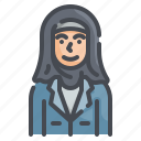 hijab, muslim, headdress, female, woman
