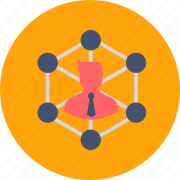 avatar, branch, branches, business, communication, community, contacts icon