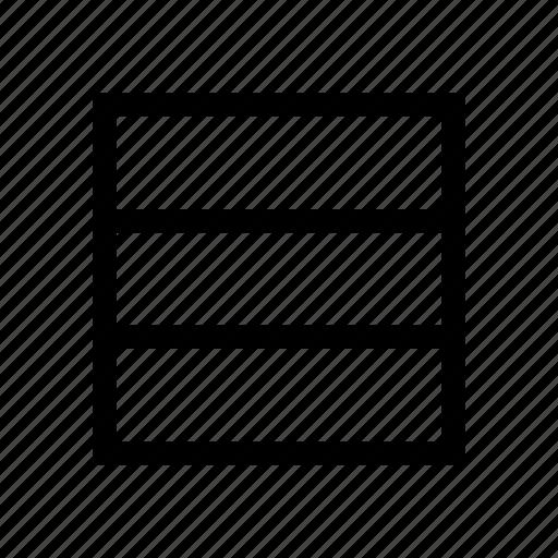 design, grid, interface, layout, rows, three, web icon