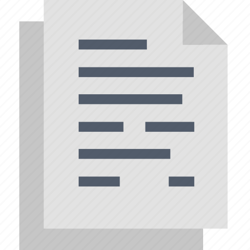 Document, data, file, information, page, paper, write icon - Download on Iconfinder