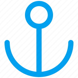 anchor, chain, marine, nautical, navigation, port, vessel icon