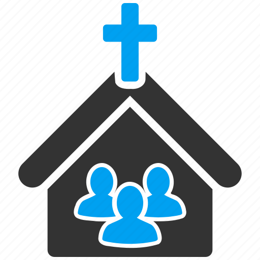 building, christian, church, community, religion, religious, temple icon
