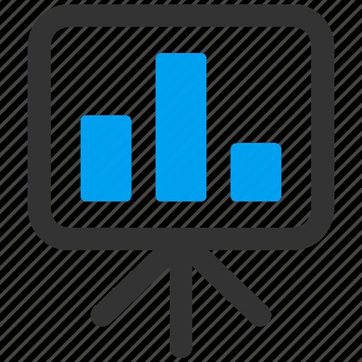 lector, lecture, monitor, presentation, report, screen, teacher icon