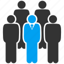command, company, management, people, staff, team, users icon