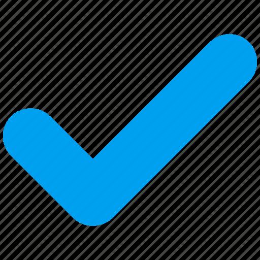 accept, approve, check, confirm, ok, tick, valid icon