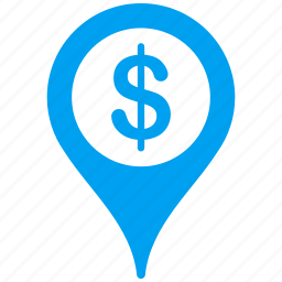 bank, business center, geo targeting, location, map marker, position, target icon