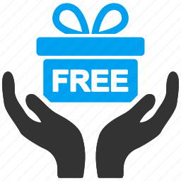 free, freemium, gift, offer, present, prize icon
