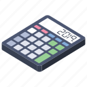 adder, adding machine, calculator, estimator, totalizer icon