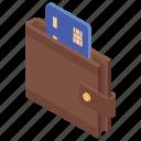 bank card, credit card, debit card, digital money, wallet money icon