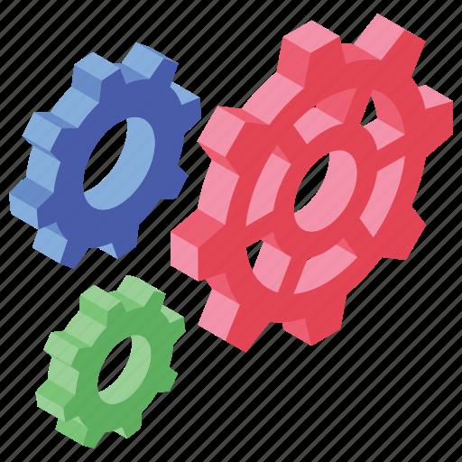 cog, cogwheel, gear, mechanic, setting icon