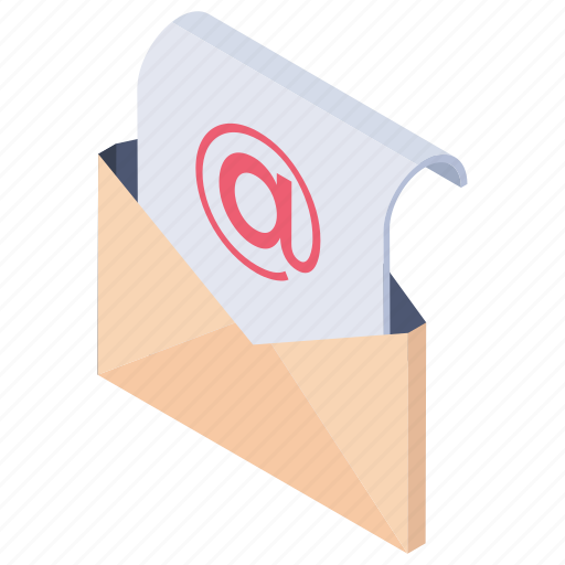 email envelope, letter communication, message, open envelope, open letter icon
