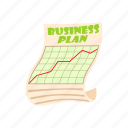 business, cartoon, concept, design, idea, plan, strategy icon