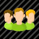 avatars, cartoon, head, male, men, person, user icon
