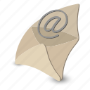 e-mail, email, envelope, internet, letter, mail, modern icon