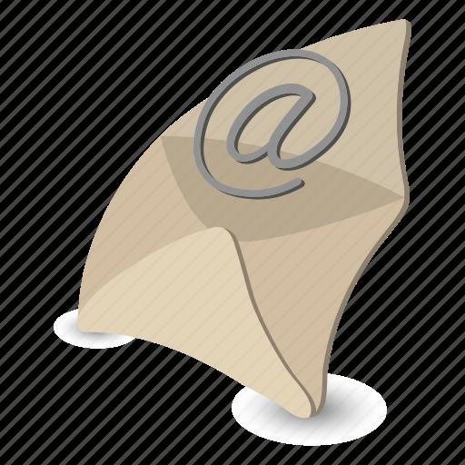 e-mail, email, envelope, internet, letter, mail, modern icon