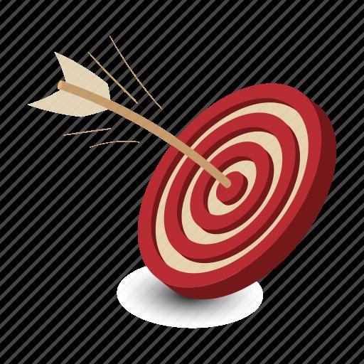 aim, business, center, dart, dartboard, game, target icon