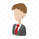businessman, cartoon, consultant, people, person, team, teamwork icon