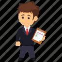 client representative, management occupation, professional, project management, project manager icon