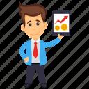 business analyst, accountant, data scientist, analyst, analyzer icon