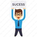 business character, business success, businessman, businessman success, successful businessman icon