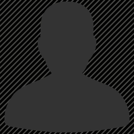 avatar, client, male, man, person, profile, user account icon