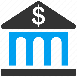 bank building, company, finance, financial center, invest, money, payment icon