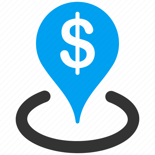 business center, company, finance, geo targeting, location, pointer, target icon