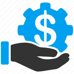 bank, dollar, finance, financial, payment, service, settings icon