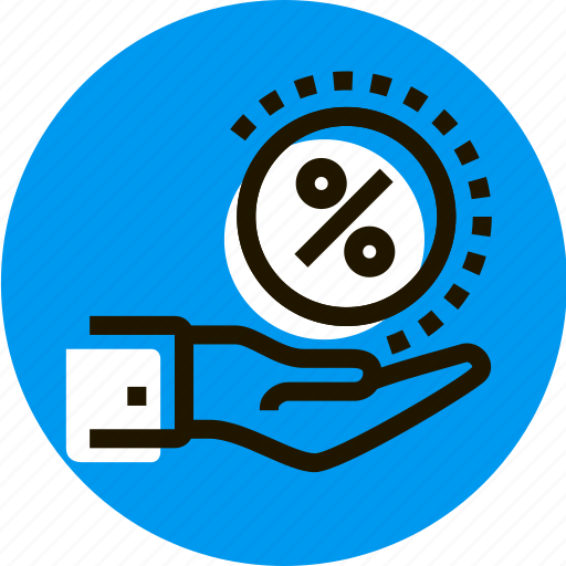 a, arm, get, grid, hand, percent, percentage icon